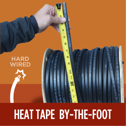 Heat Tape by the foot