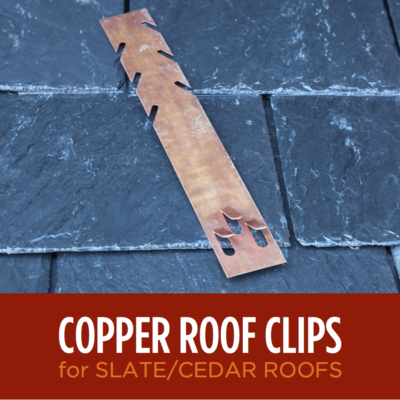 Copper Heat Tape Roof Clips