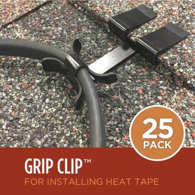 Ice Dam Heat Tape Roof Clips 25-Pack