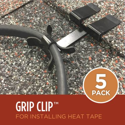 Ice Dam Heat Tape Roof Clips 5-Pack