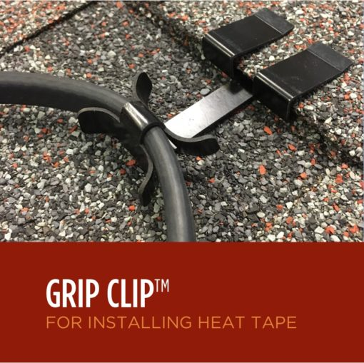 Ice Dam Heat Tape Roof Clips