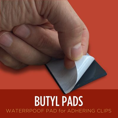 Butyl Pads for heat tape Clips