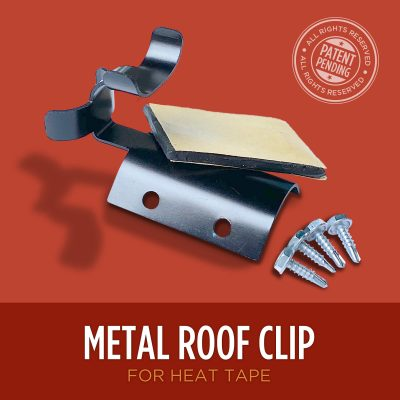 Metal Roof Clip for heat tape