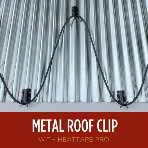 Metal Roof Clip for Heat Tape Heat Cable