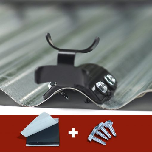 Metal Roof Clip for Ice Dams
